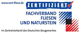 'Teilnehmerbetrieb am Qualifizierungsprogramm 'Zert-Fliese'